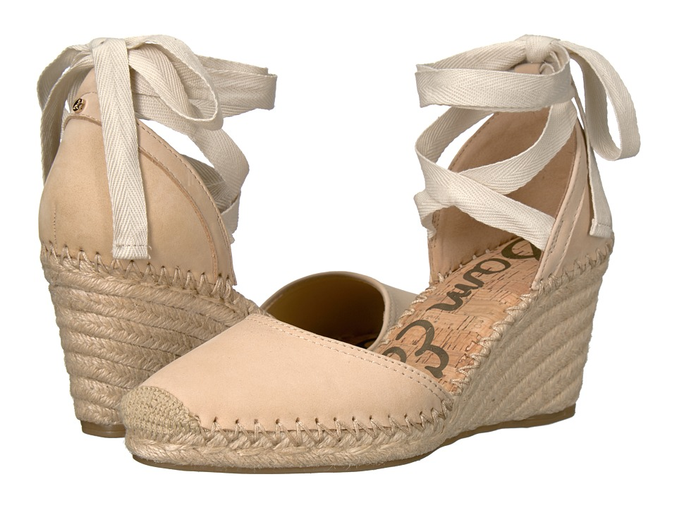Sam Edelman - Patsy (Summer Sand Jabuck Nubuck Leather) Women's 1-2 inch heel Shoes