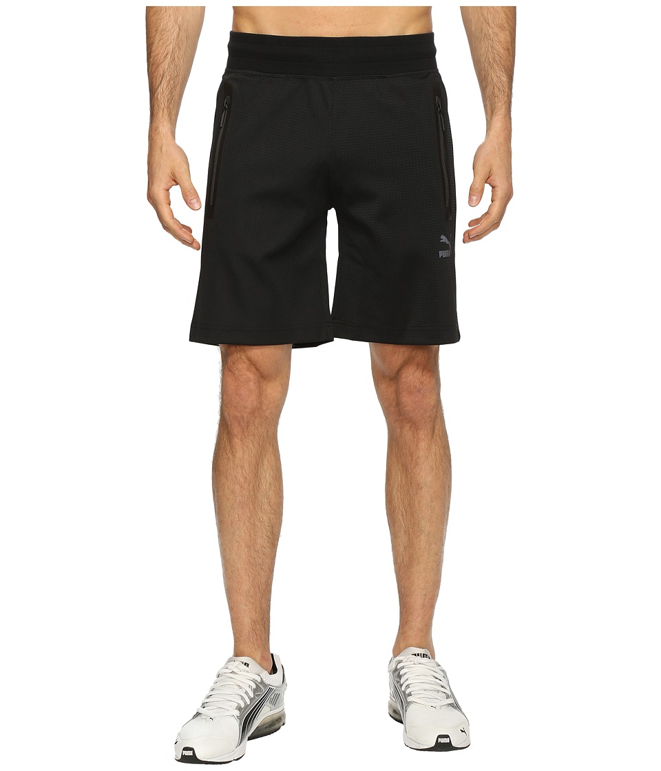 PUMA - Evo LV Sweatshorts (Black) Men's Shorts
