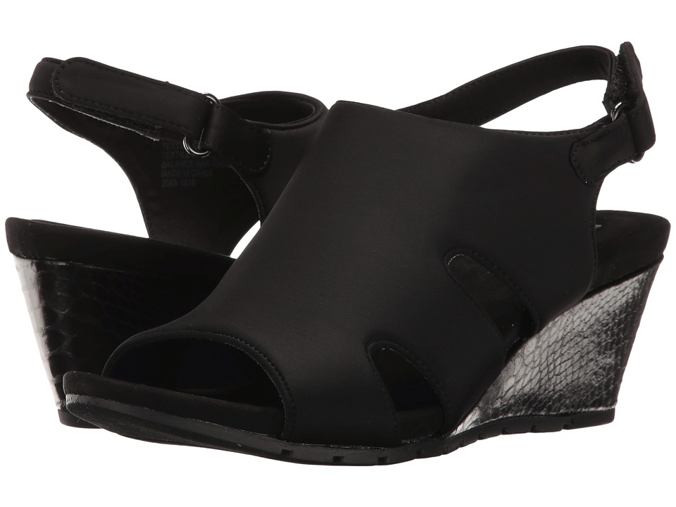 Bandolino - Galedale (Black Lycra) Women's Shoes