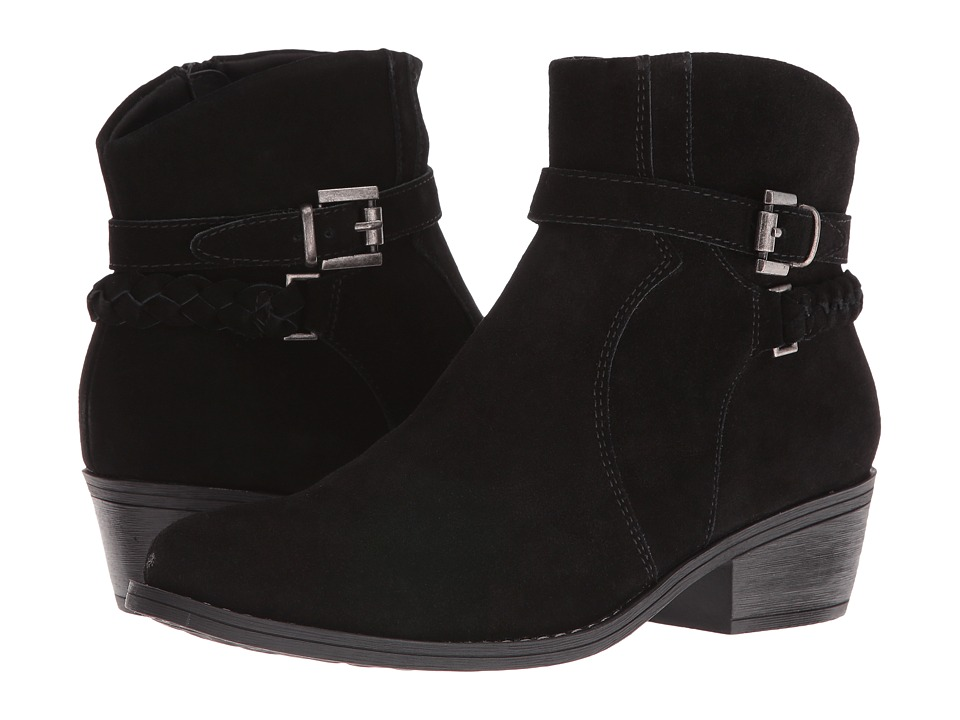 Bare Traps - Masey (Black Leather) Women's Boots