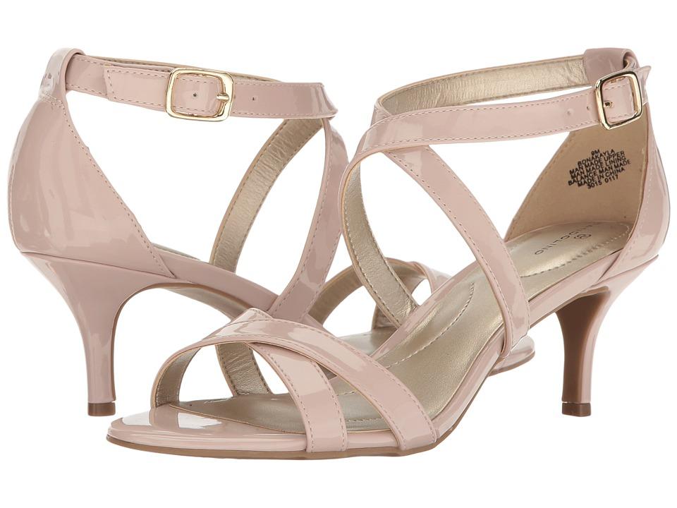 Bandolino - Nakayla (Dusty Pink Super Soft Patent Synthetic) Women's Shoes