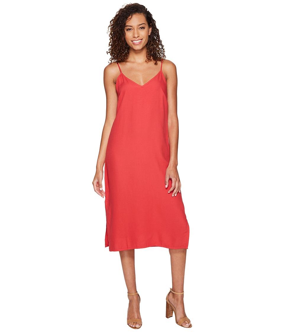 Splendid - The Slip Dress (Cape Red) Women's Dress