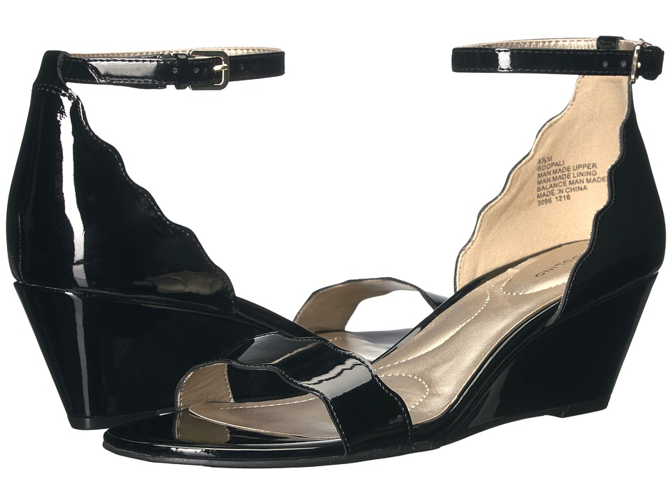 Bandolino - Opali (Black Patent Super Soft Patent Synthetic) Women's Shoes