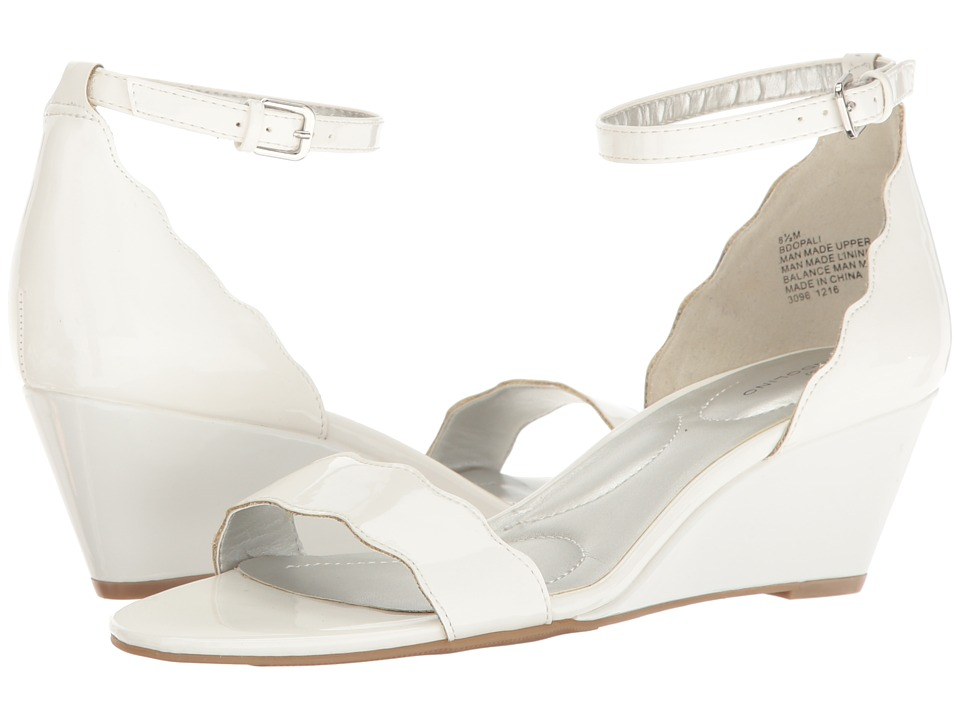 Bandolino - Opali (White Patent Super Soft Patent Synthetic) Women's Shoes