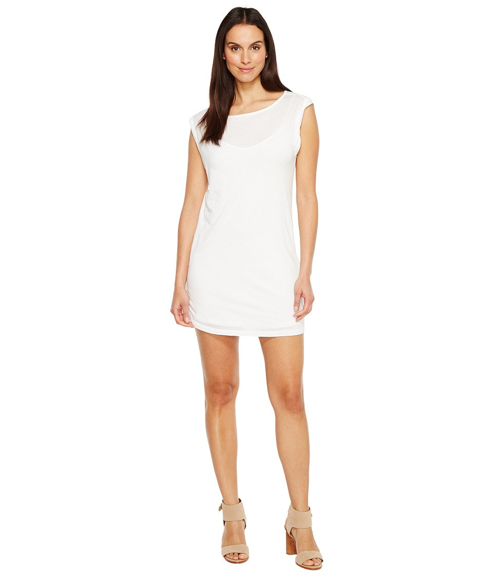Splendid - Rolled Sleeveless Dress (Paper) Women's Dress