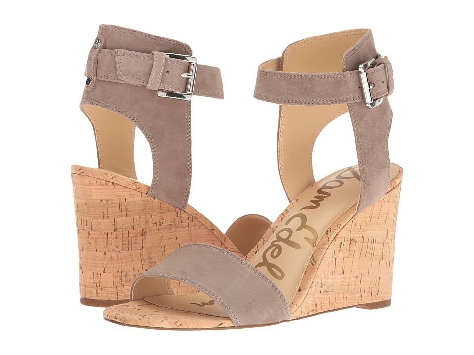 Sam Edelman - Willow (Putty Kid Suede Leather) Women's Dress Zip Boots