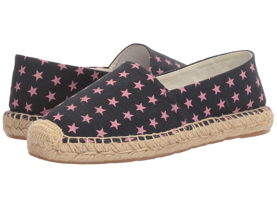 Sam Edelman - Verona (Pink/Navy Star Print Canvas) Women's 1-2 inch heel Shoes