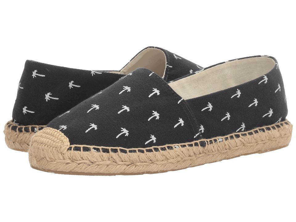 Sam Edelman - Verona (Navy Palm Tree Print Canvas) Women's 1-2 inch heel Shoes