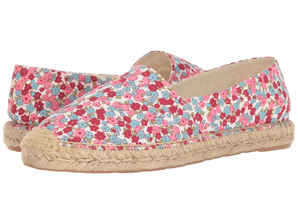 Sam Edelman - Verona (Pink Multi Mini Floral Print Fabric) Women's 1-2 inch heel Shoes