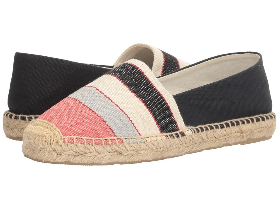 Sam Edelman - Verona (Blue Multi Wide Stripe Canvas Print) Women's 1-2 inch heel Shoes