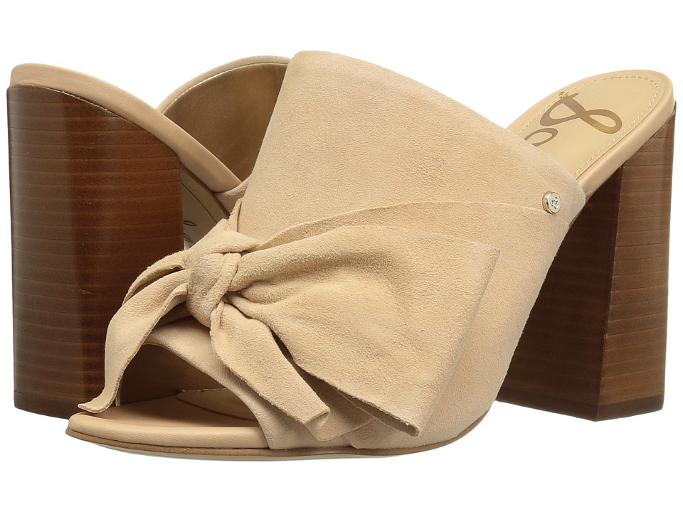 Sam Edelman - Yumi (Natural Naked Kid Suede Leather) Women's 1-2 inch heel Shoes