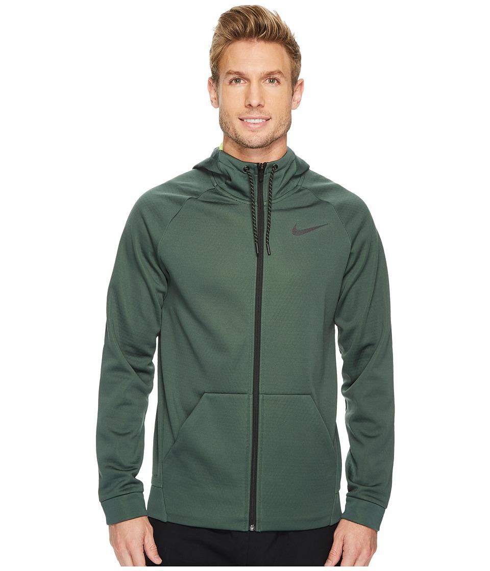 Nike Therma Sphere Full-Zip Training Jacket (Vintage Green/Volt/Black) Men