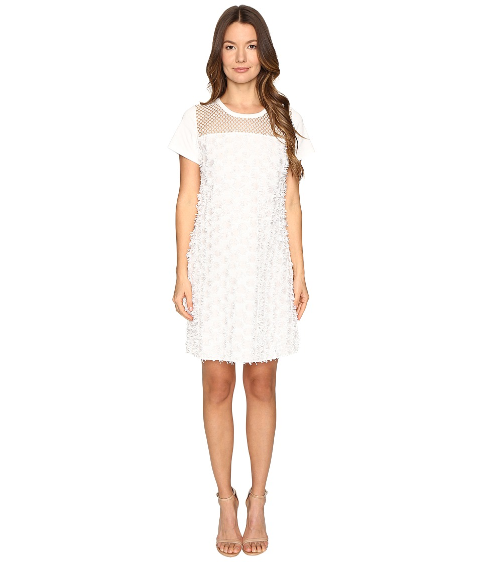 See by Chloe - Cotton Embellished Dress (Cloud Dancer) Women's Dress