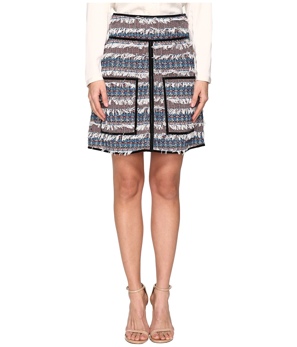 See by Chloe - Tweed Pocket Skirt (Deep Water) Women's Skirt