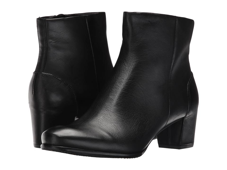 ECCO - Pailin (Black Soft Touch) Women's Shoes
