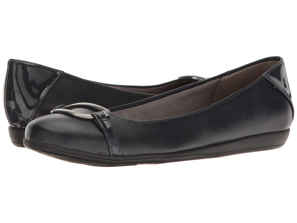 LifeStride - Clyde (Navy) Women's Shoes