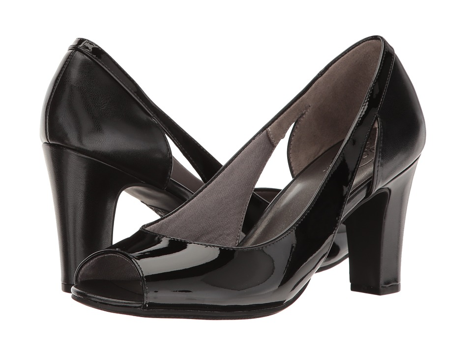 LifeStride - Connect (Black) Women's Shoes
