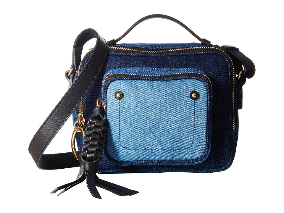 See by Chloe - Patti Camera Bag (Denim) Shoulder Handbags