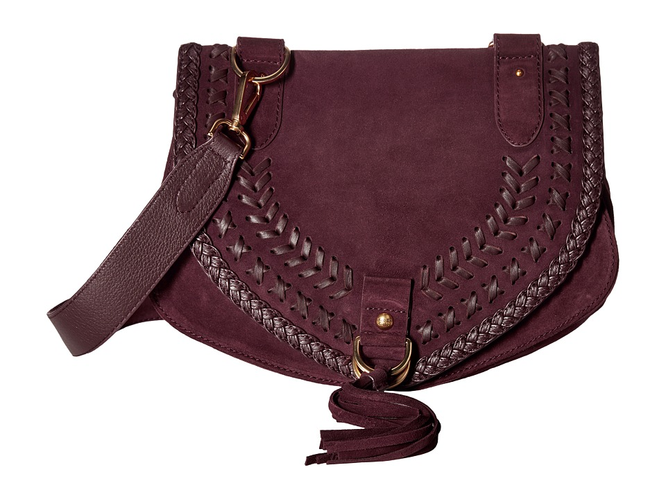 See by Chloe - Collins Medium Messenger (Dark Plum) Messenger Bags