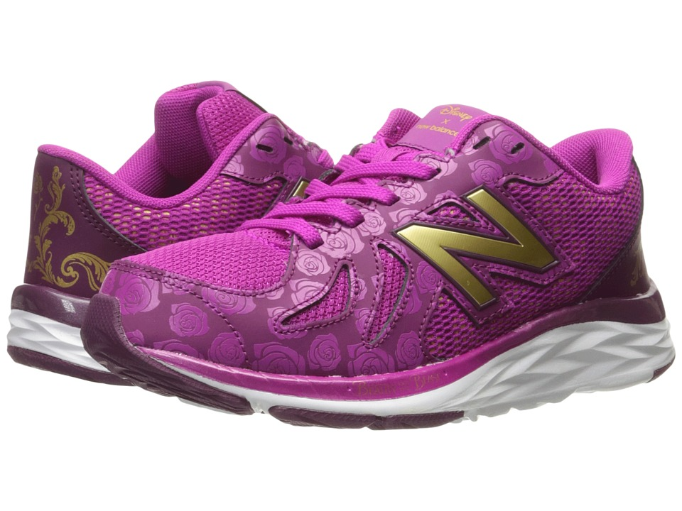 New Balance Kids - 790v6 - Beauty and The Beast (Little Kid/Big Kid) (Purple/Gold) Girl's Shoes