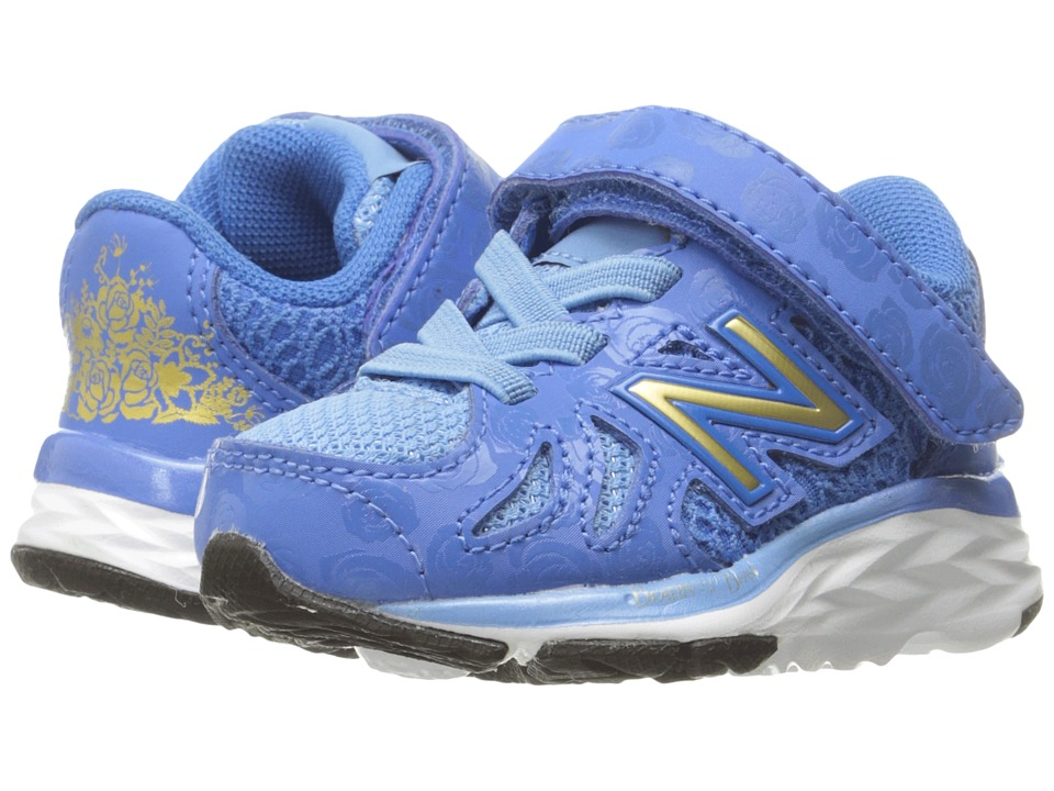 New Balance Kids - 790v6 - Beauty and The Beast (Infant/Toddler) (Blue/Gold) Girl's Shoes