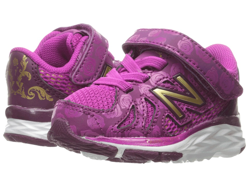 New Balance Kids - 790v6 - Beauty and The Beast (Infant/Toddler) (Purple/Gold) Girl's Shoes