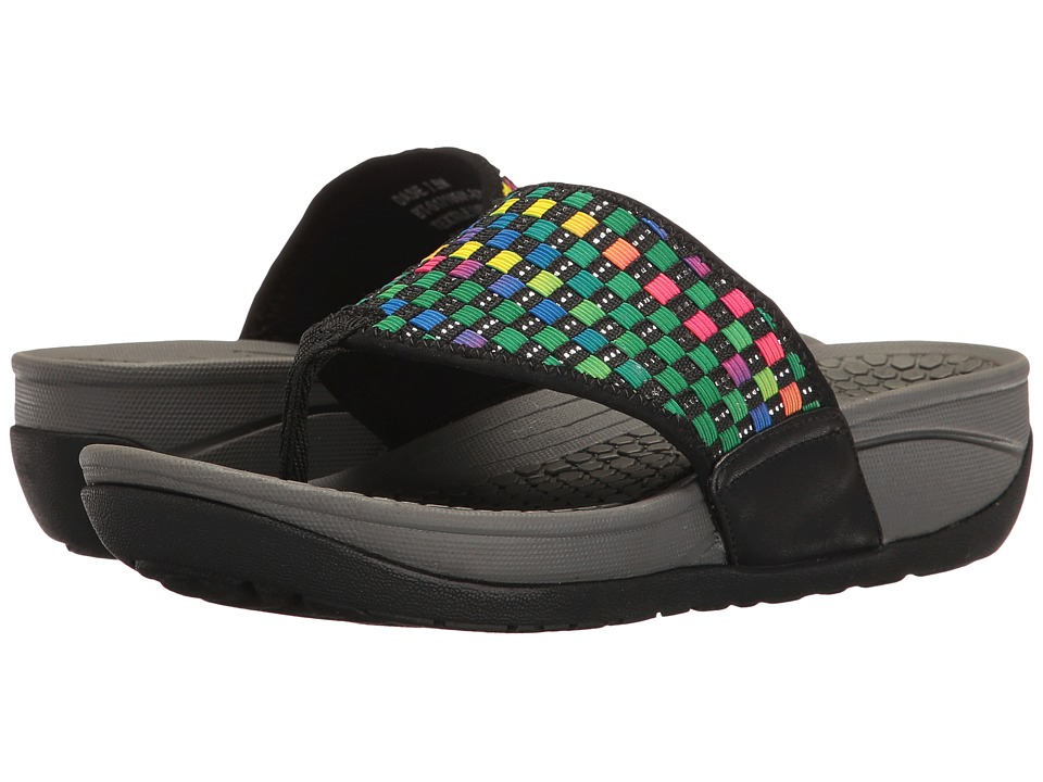 Bare Traps - Dasie (Black Multi) Women's Shoes