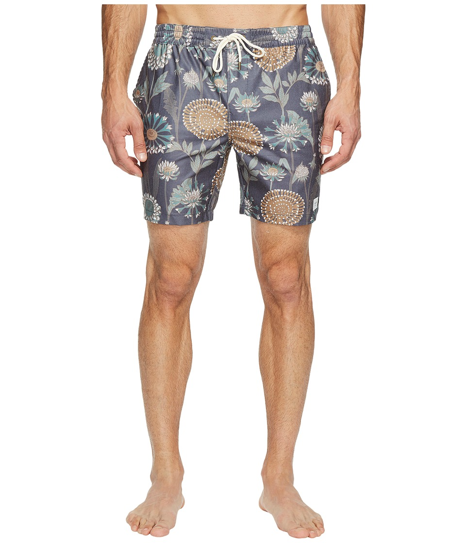 Globe - Botany Poolshorts (Deep Sea) Men's Swimwear