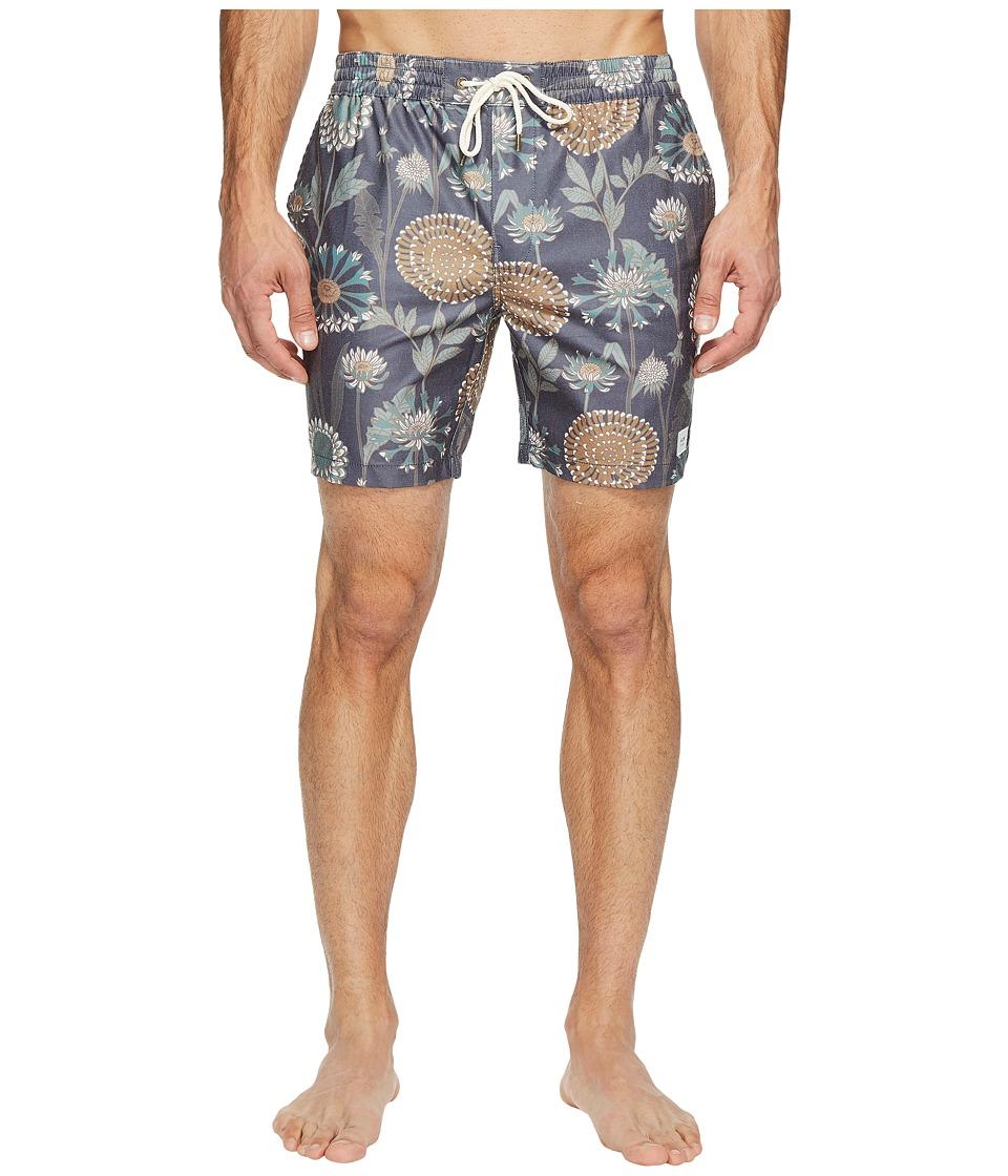 Globe - Botany Poolshorts (Deep Sea) Men's Swimwear