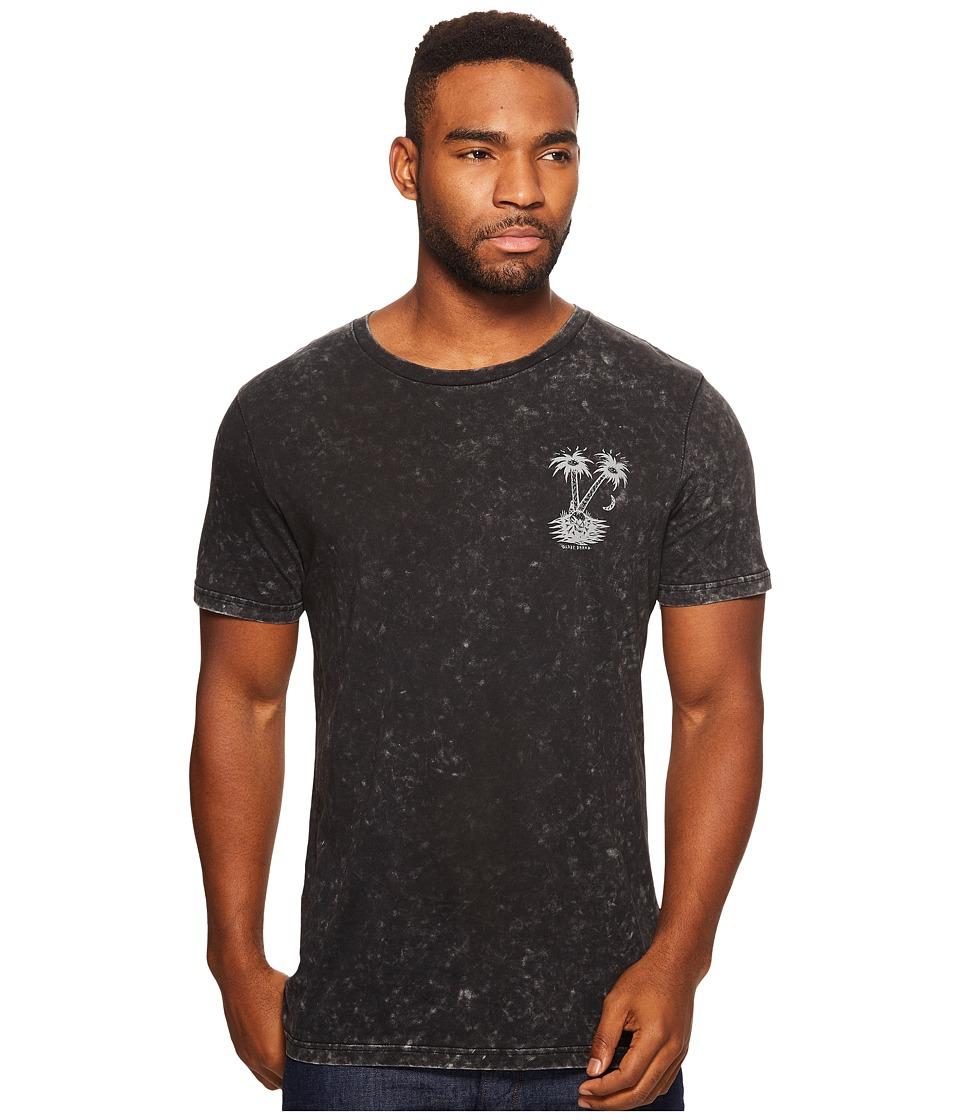 Globe - Nightfall Tee (Acid Black) Men's T Shirt