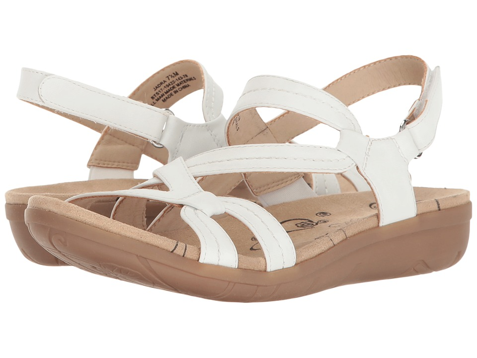 Bare Traps - Jadra (White) Women's Shoes