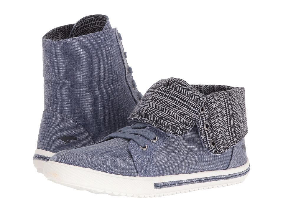 Rocket Dog - Penwell (Blue Estelle/Route) Women's Lace-up Boots