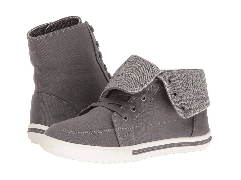 Rocket Dog - Penwell (Grey Canvas/Scales) Women's Lace-up Boots