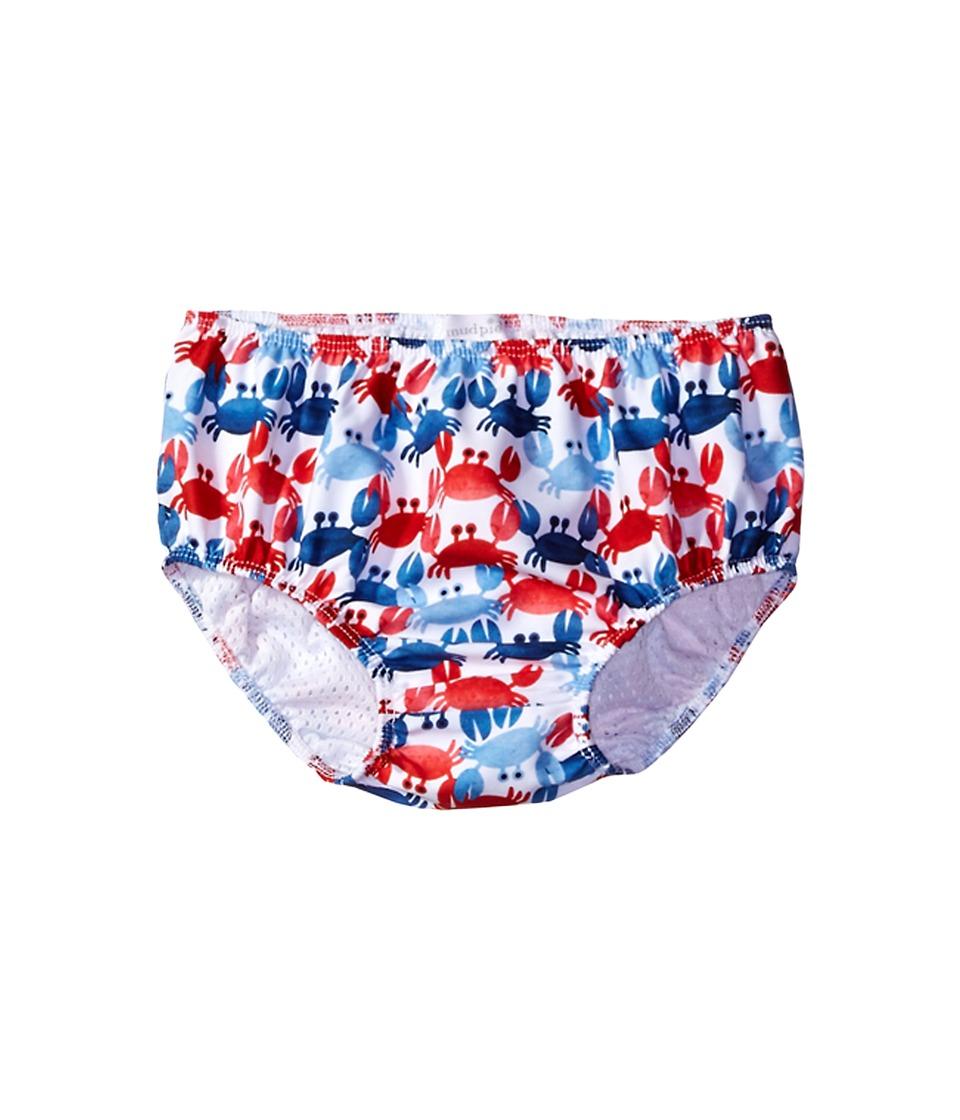 Mud Pie - Crab Swim Diaper Cover (Infant) (Blue) Boy's Swimwear