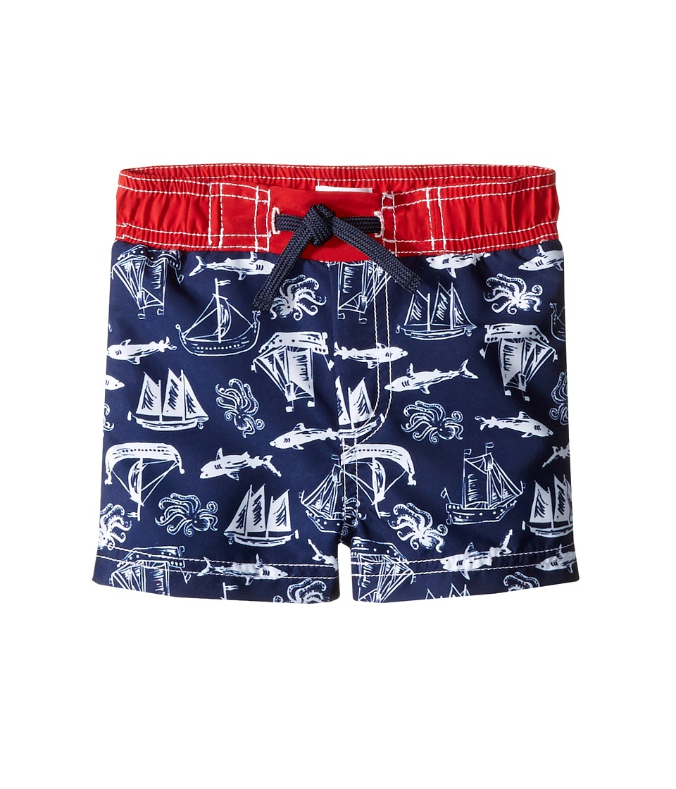 Mud Pie - Shark Swim Trunks (Infant/Toddler) (Blue) Boy's Swimwear
