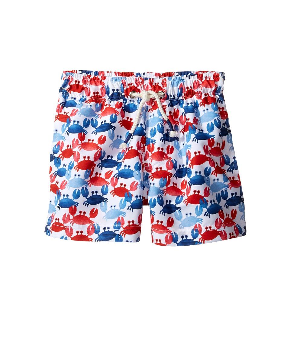 Mud Pie - Crab Swim Trunks (Infant/Toddler) (Blue) Boy's Swimwear