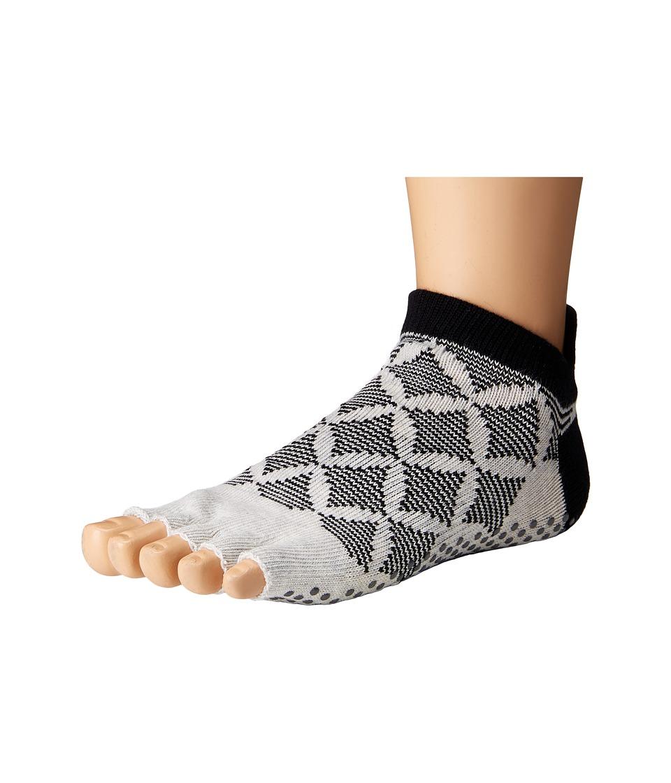 toesox - Low Rise Half Toe w/ Grip (Fresca) Women's No Show Socks Shoes