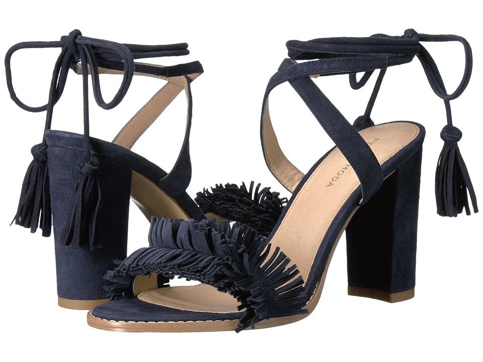 Pelle Moda - Faye (Midnight Suede) Women's Shoes