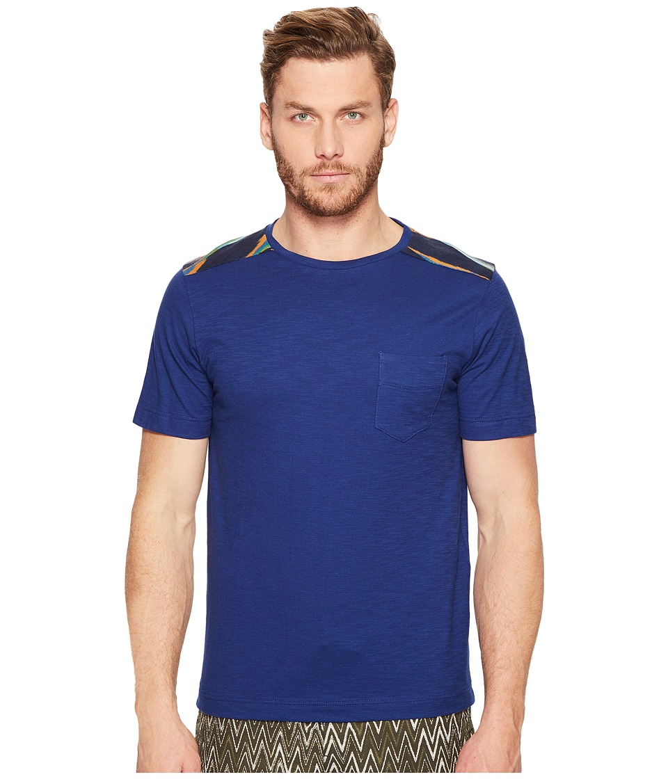 Missoni - Jersey Patchwork T-Shirt (Navy) Men's T Shirt