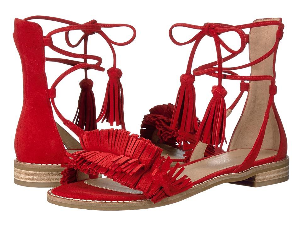 Pelle Moda - Harah (Lipstick Suede) Women's Shoes