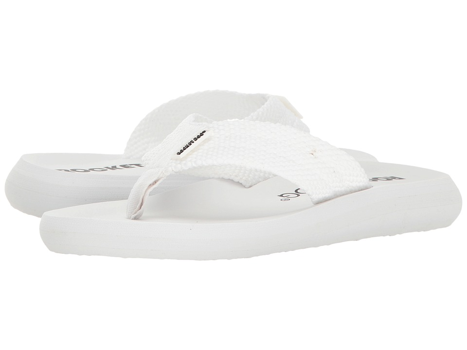 Rocket Dog - Sunset (White Webbing) Women's Sandals