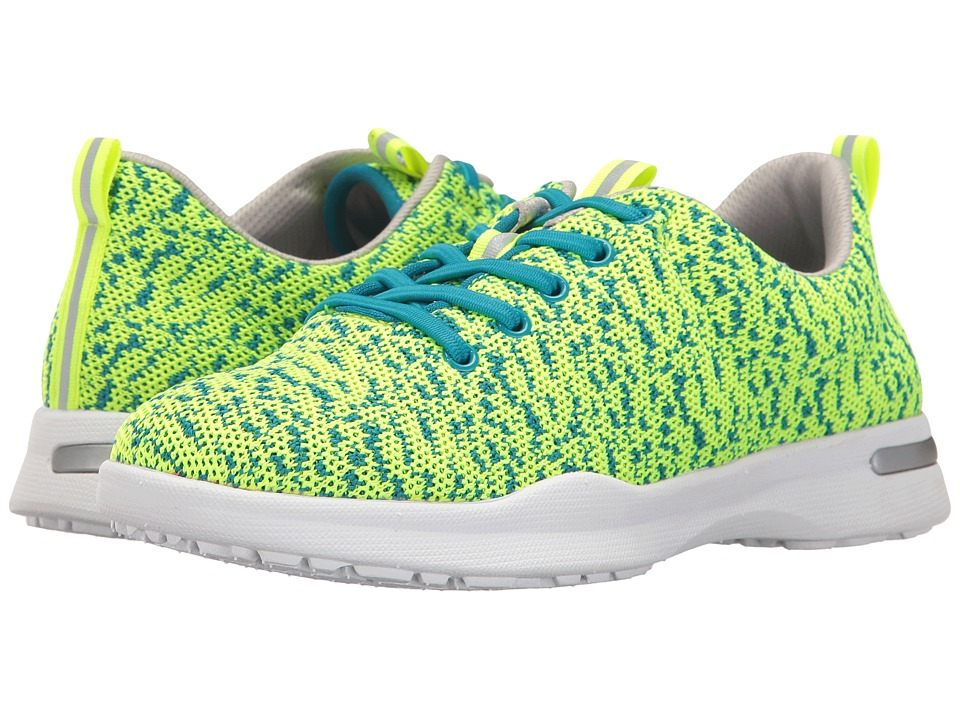 SoftWalk - Sampson (Lime Knit) Women's Shoes