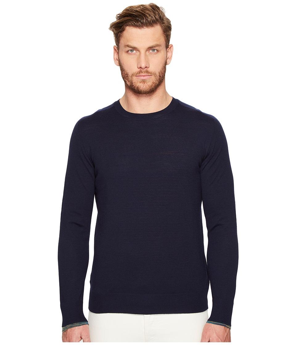 Missoni - Reversible Sweater (Navy) Men's Sweater