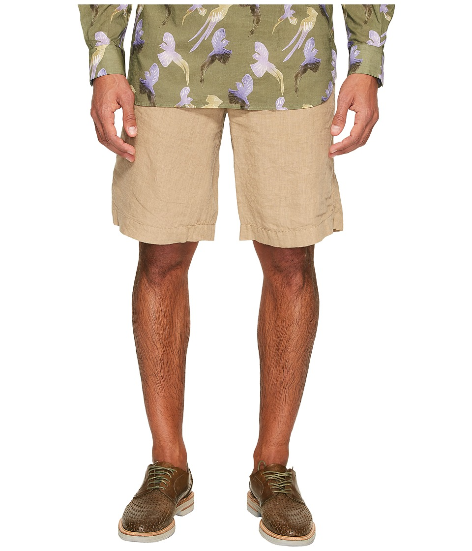 Missoni - Dyed Linen Shorts (Khaki) Men's Shorts