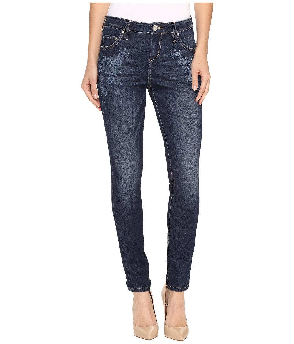 Jag Jeans - Sheridan Laser Skinny Mission Denim in Rapid Dark (Rapid Dark/Bandana) Women's Jeans
