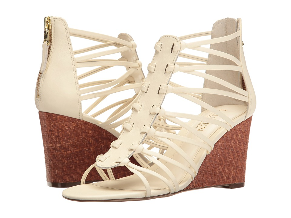 LAUREN Ralph Lauren - Alexandrea (Eggshell) Women's Wedge Shoes