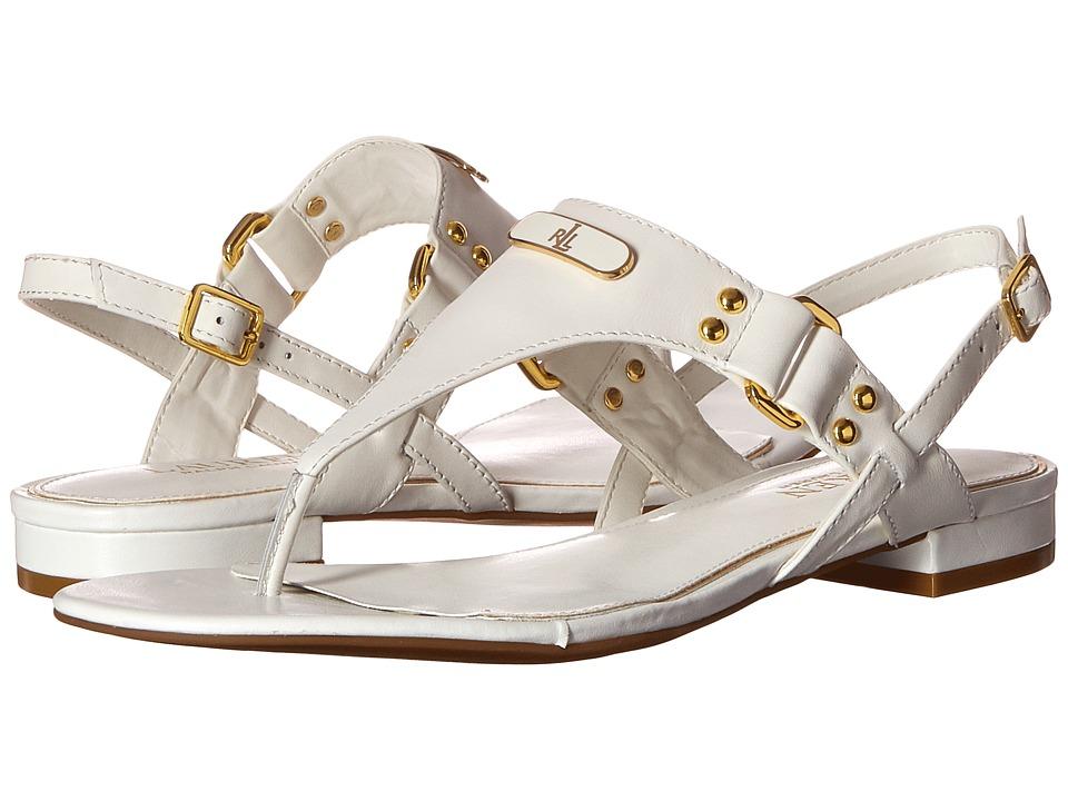 LAUREN Ralph Lauren - Valinda (RL White) Women's Sandals