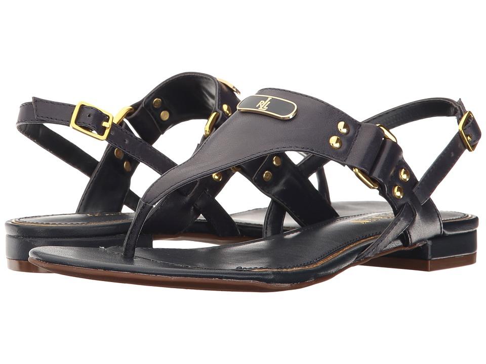 LAUREN Ralph Lauren - Valinda (Modern Navy) Women's Sandals