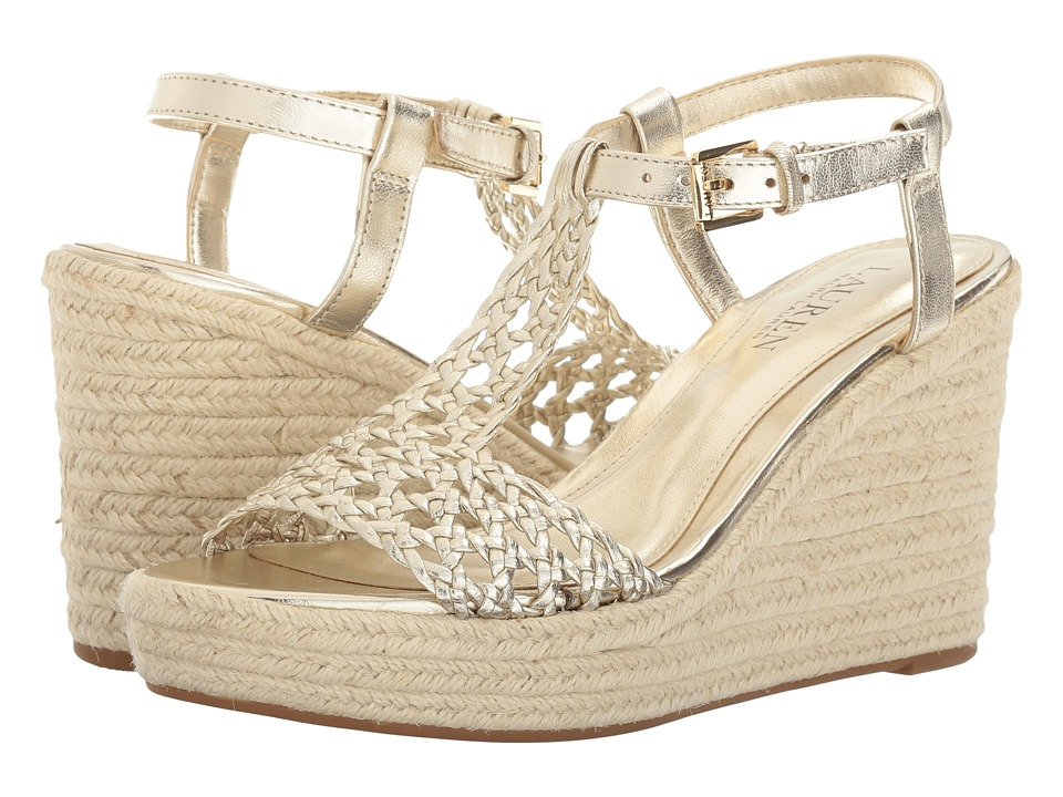 LAUREN Ralph Lauren - Hailey (Platino) Women's Shoes
