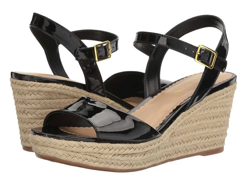 LAUREN Ralph Lauren - Keara (Black) Women's Wedge Shoes
